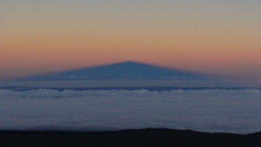 Shadow of Mauna Kea Summit; Site; Amateur; Astronomy; Stars; Hawaii; Ko Olina