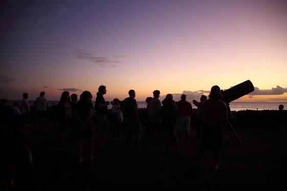 Stars Above Hawaii