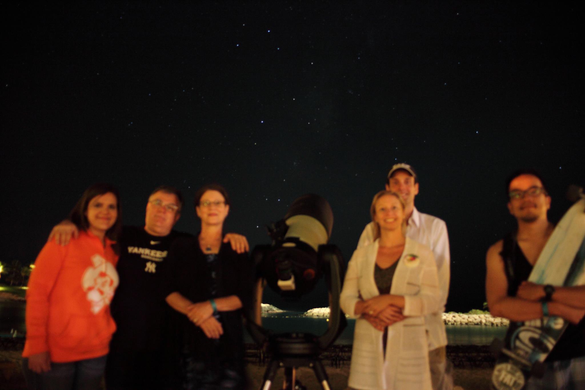 Beach Star Gazing ! - Milky Way band in background !