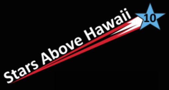 Stars Above Hawaii Anniversary Logo