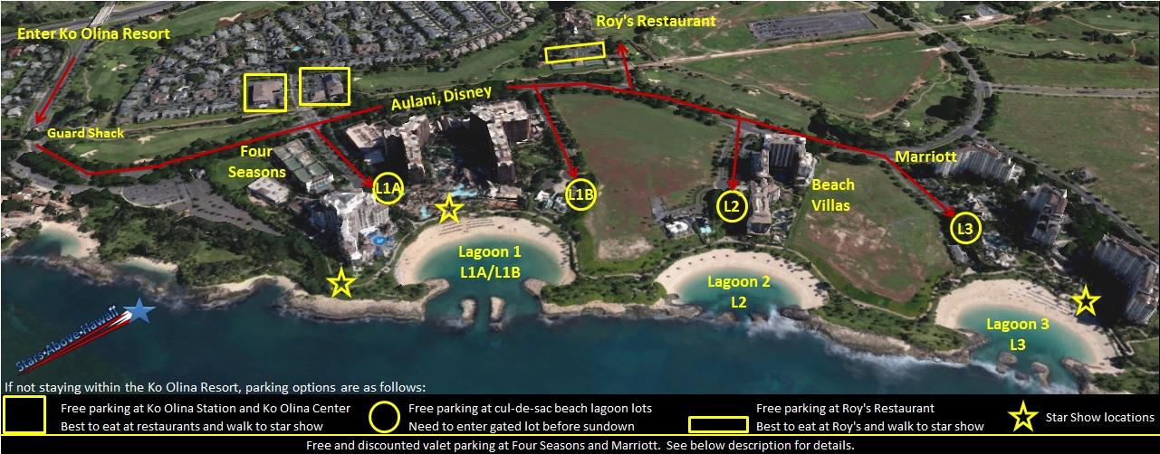 コオリナリゾート、ハワイの星、フォーシーズンズオアフ島、アウラニディズニーリゾートスパ、マリオットバケーションビーチクラブ